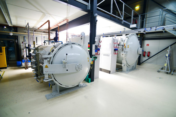 Autoklav-Scholz-Maschinenpark