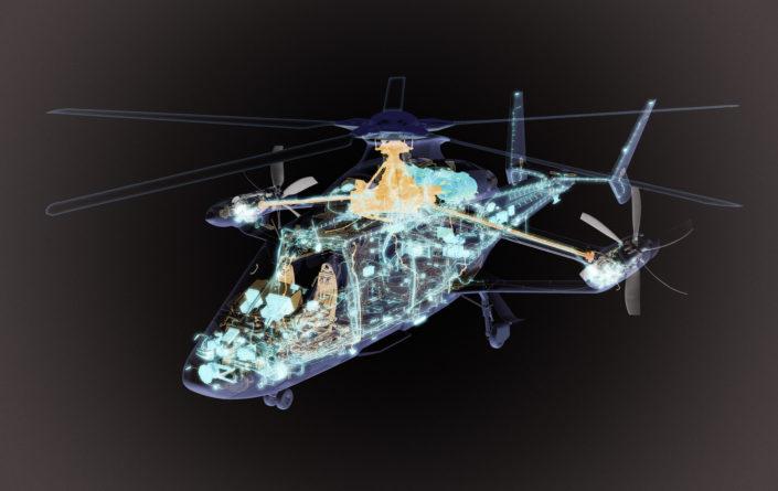 Hubschrauber-Konzeptstudie